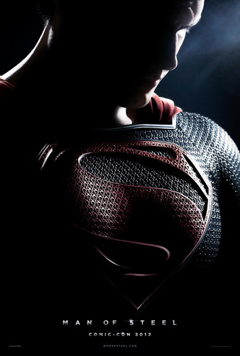 Man of Steel Comic-Con 2012 Poster