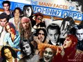 Many faces of Johnny Depp fan art <3