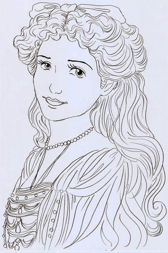 Maria Drawing