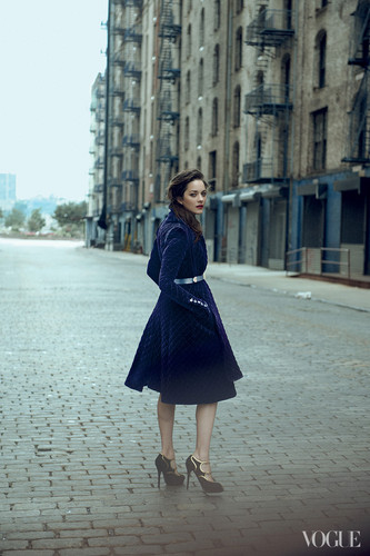 Marion Cotillard in the August 2012 Issue of Vogue (US)