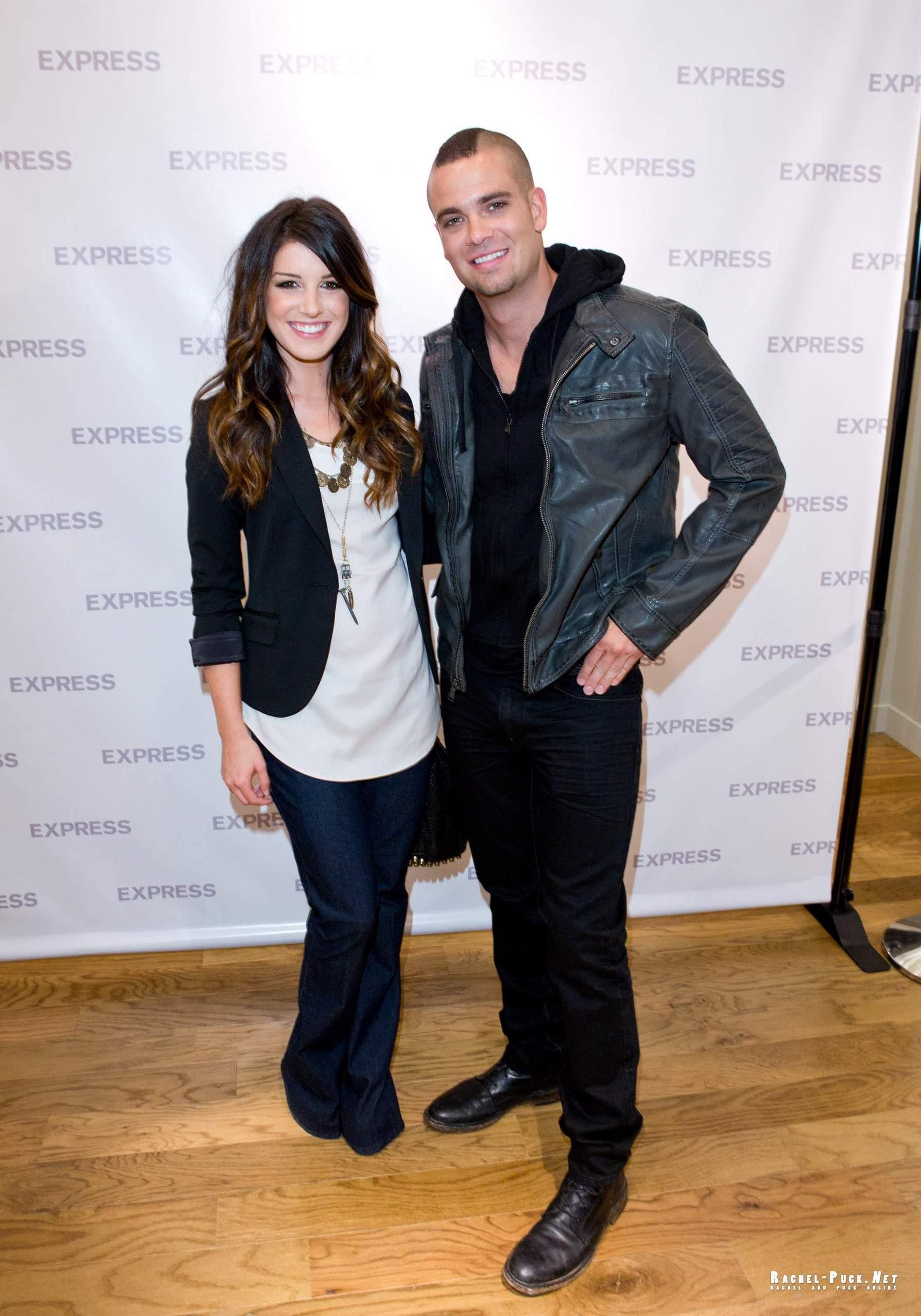 Mark Salling and Shenae Grimes