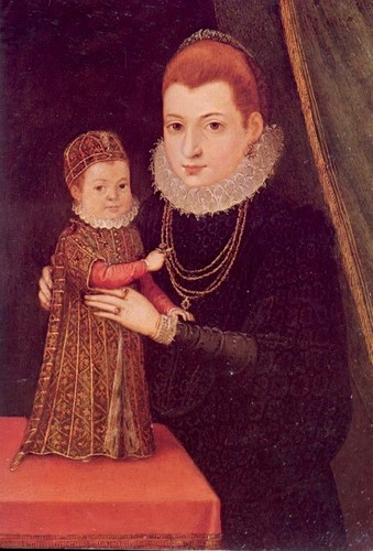 Mary and her son James