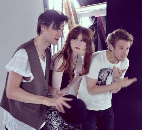 Matt, Arthur & Karen at Comic Con 2012