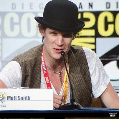 Matt Smith Comic Con 2012