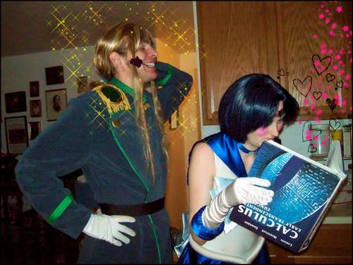 Mercury's Distraction cosplay