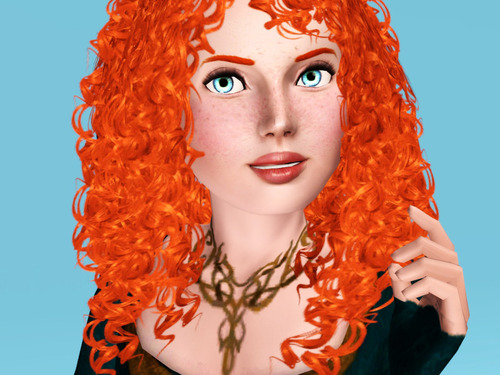 Merida - Legende der Highlands Hintergrund entitled Merida in Sims 3
