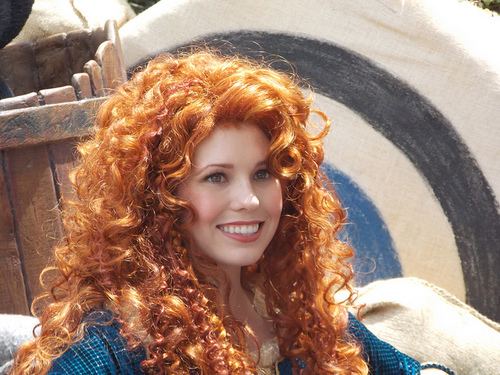 Merida in Disneyland - brave Photo