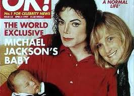 Michael And seconde Wife, Debbie, and their infant son, Prince