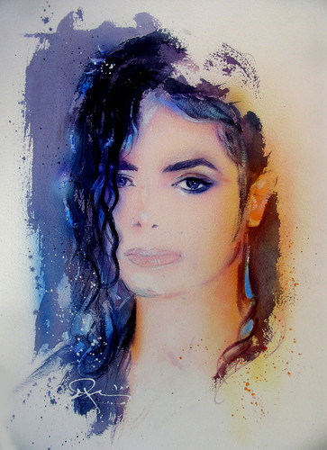Michael Jackson Art by Nate Giorgio