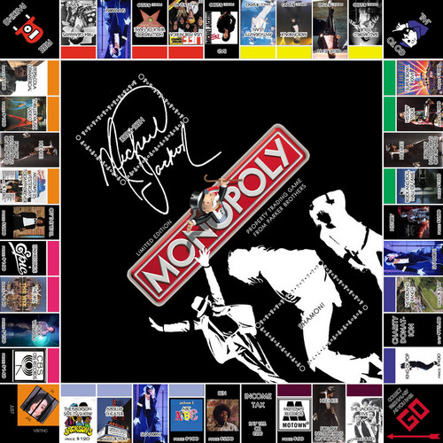 Michael Jackson Monopoly Board Game