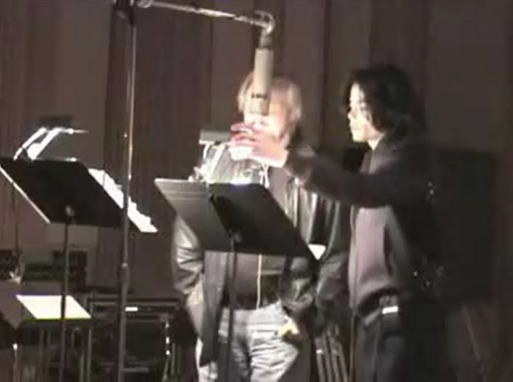Michael Jackson and Barry Gibb - All In Your Name