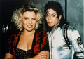 Michael and Kim Wilde - michael-jackson photo