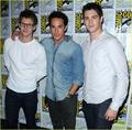Michael Trevino at Comic Con 2012