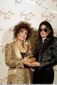 Michael and Dame Elizabeth Taylor