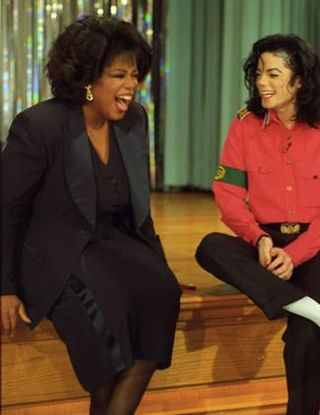 Michael and Oprah