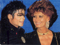 Michael and Sophia - michael-jackson photo