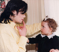 Michael and his daughter, Paris - michael-jackson photo