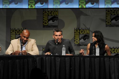 Michelle - Comic-Con International 2012 -Screen Gems' Resident Evil Retribution Panel - July 13, 201