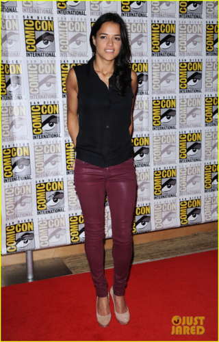 Michelle Rodriguez wallpaper titled Michelle - Comic-Con Panels - July 14, 2012