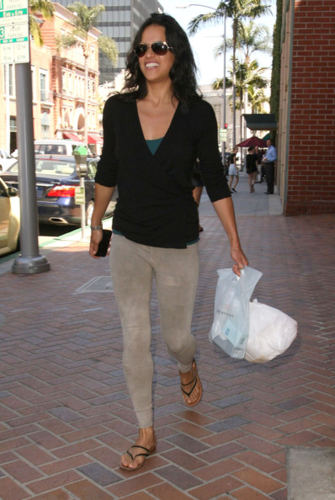 Michelle - Out shopping in Beverly Hills, California - June 07, 2012