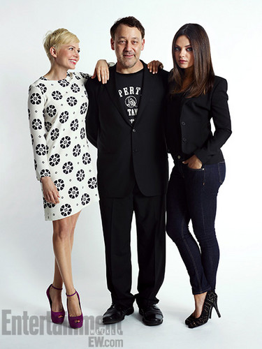 "Michelle Williams, Sam Raimi & Mila Kunis - ""Comic Con"" - 2012"