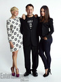 Michelle Williams, Sam Raimi & Mila Kunis -