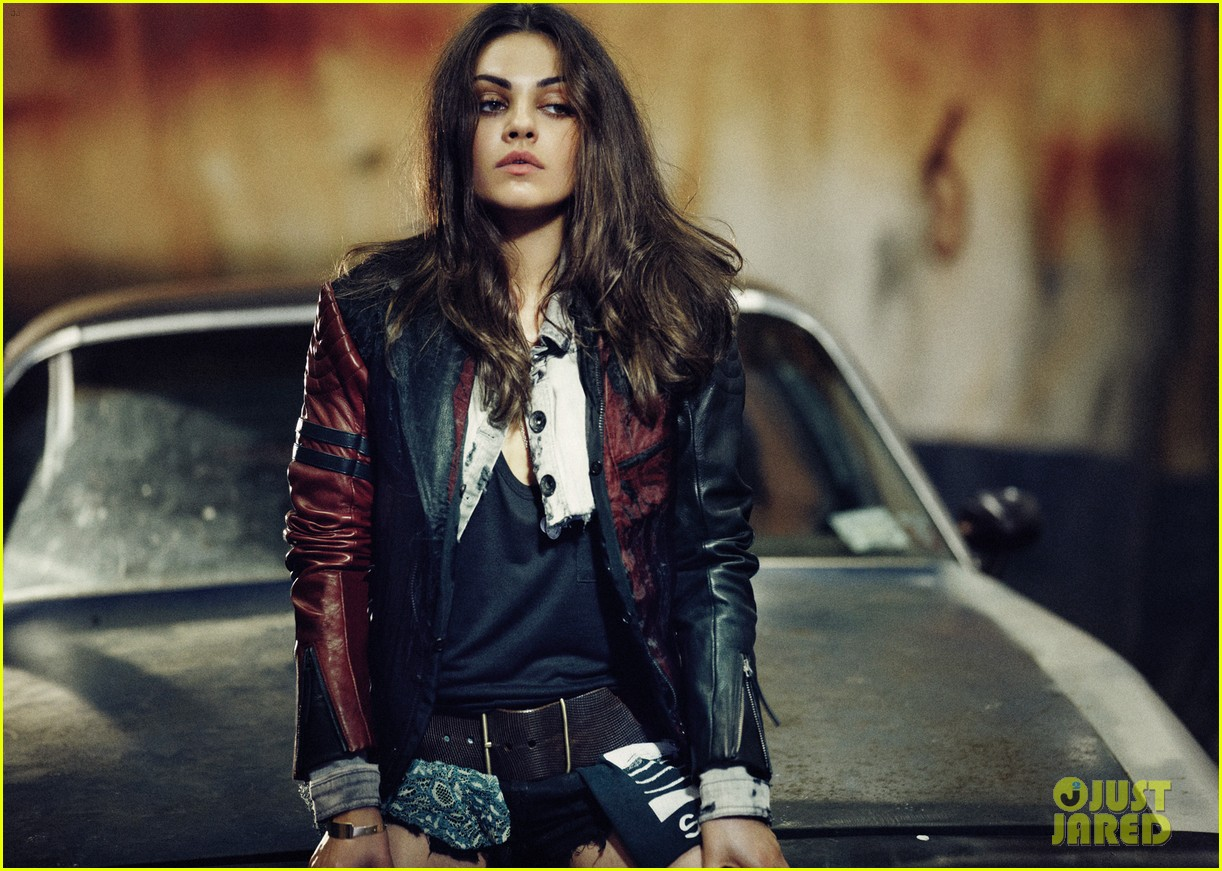 Mila Kunis Covers 'Interview Magazine' August 2012