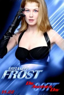 Miranda Frost from Die another siku