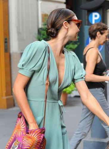 Miranda stepping out in NYC