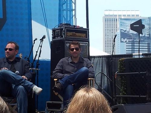Misha, Mark, Jim at Comic Con!