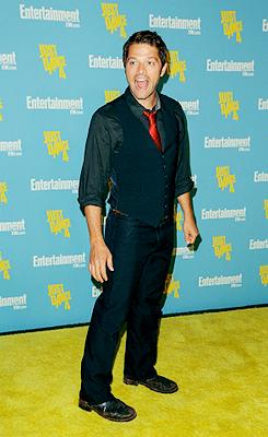 Misha at Comic Con