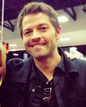 Misha at Comic Con