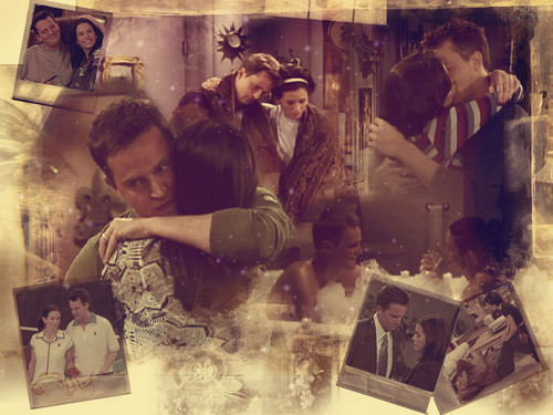 Monica and Chandler wallpaper entitled Mondler