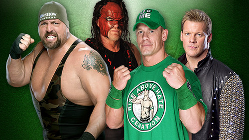 Money in the Bank:Big tunjuk vs Kane vs John Cena vs Chris Jericho