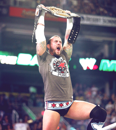 CM Punk wallpaper entitled Money in the bank
