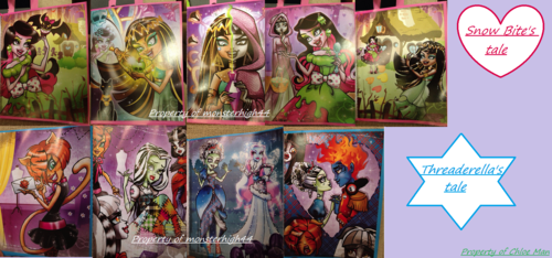 Monster High Scary Tales