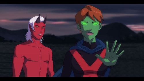 More guardianwolf216 Fanmade Young Justice scenes