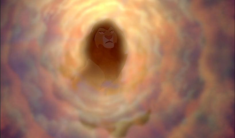 Mufasa's ghost