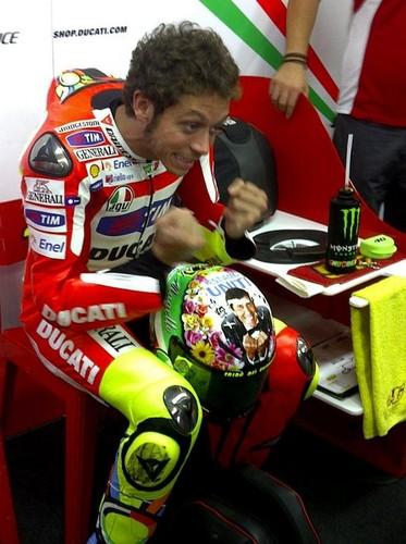 Mugello 2012 ヘルメット