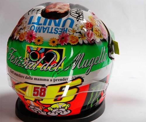 Mugello 2012 шлем