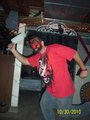 My Cuz Randy Hatchet Man Pose  - insane-clown-posse photo