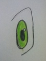 My drawing of a eye. - eyes photo