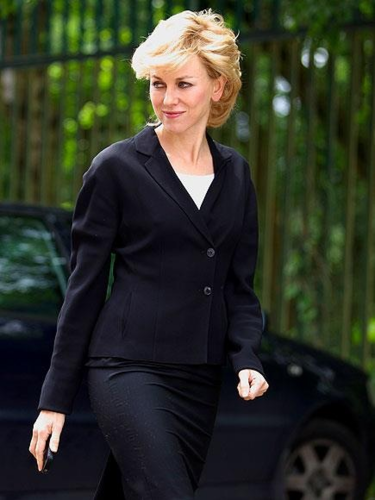 Naomi Watts as Princess Diana (Does she pull it off)
