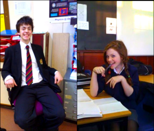 Narnia cast in school - the-chronicles-of-narnia Photo