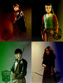 Narnia kids sorted on Harry Potter houses