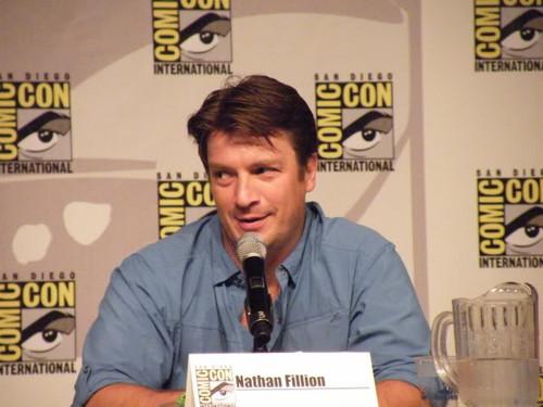 Nathan Fillion Comic Con 2012