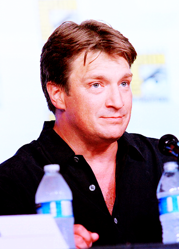 Nathan Fillion Comic Con 2012 - castle Photo
