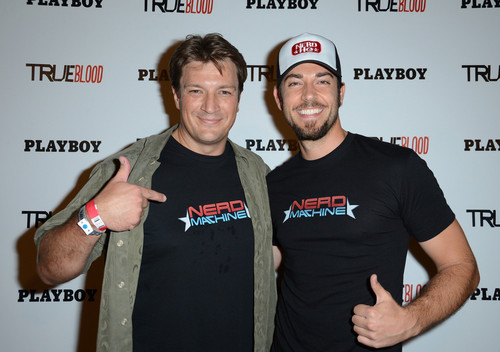 Nathan Fillion & Zachary Levi at Comic Con 2012 - nathan-fillion Photo