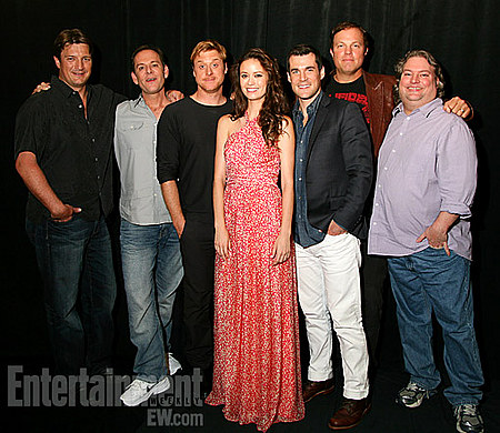 Nathan Fillion and Firefly Cast at Comic Con 2012
