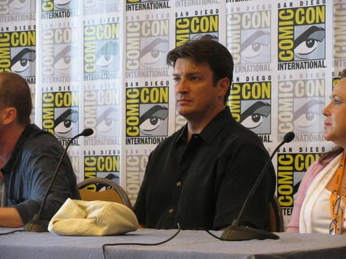 Nathan Fillion at Comic-Con